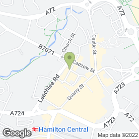 Map of CafeCava in Hamilton, lanarkshire