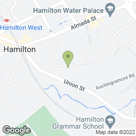 Map of Countrywide Signs (Edinburgh) in Hamilton, lanarkshire