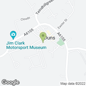 Map of Bank of Scotland in Duns, berwickshire
