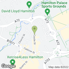 Map of Lanarkshire Weddings in Hamilton, lanarkshire