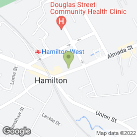 Map of National Tyres and Autocare in Hamilton, lanarkshire