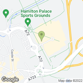Map of Vue Cinema in Hamilton, lanarkshire