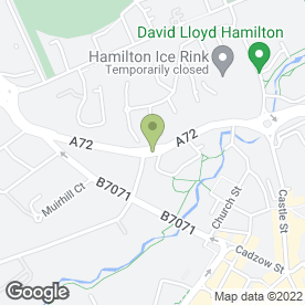 Map of Argyle Signs & Installations in Hamilton, lanarkshire