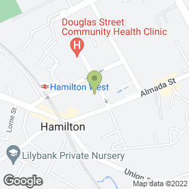 Map of Drs Young, Hannah, Hamilton & Smyth in Hamilton, lanarkshire