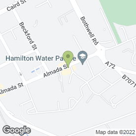 Map of Eataliano Restaurant in Hamilton, lanarkshire