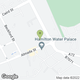 Map of Petal Support Ltd in Hamilton, lanarkshire