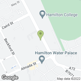 Map of 4 Seasons in Hamilton, lanarkshire