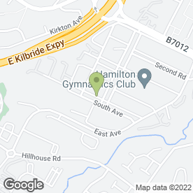 Map of Television & Video Repair Services in Blantyre, Glasgow, lanarkshire