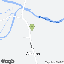 Map of ALLANTON INN in Allanton, Duns, berwickshire