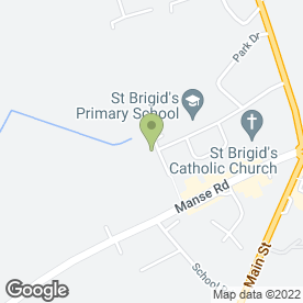 Map of LIZ Denholm in Newmains, Wishaw, lanarkshire