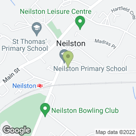 Map of Neilston Medical Centre in Neilston, Glasgow, lanarkshire
