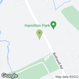 Map of Fraser Tool Hire Ltd in Hamilton, lanarkshire