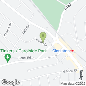 Map of Louise Harley Public Relations Ltd in Clarkston, Glasgow, lanarkshire