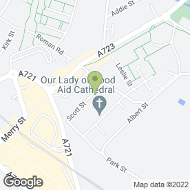 Map of Eternal Laser Therapy in Motherwell, lanarkshire