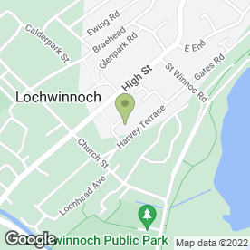 Map of Loch Plant Services in Lochwinnoch, renfrewshire