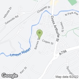 Map of Aquawash Ltd in Barrhead, Glasgow, lanarkshire
