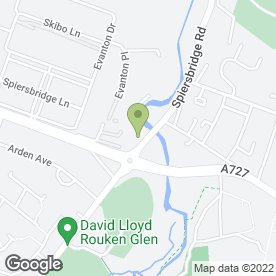 Map of McConechy's Tyre & Exhaust Centres in GLASGOW, lanarkshire