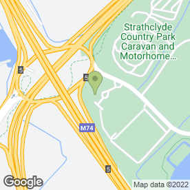 Map of The Toby Carvery Strathclyde Park in Motherwell, lanarkshire