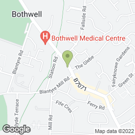 Map of Bothwell Bridge Hotel in Bothwell, Glasgow, lanarkshire