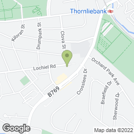 Map of All Building Work in Thornliebank, Glasgow, lanarkshire