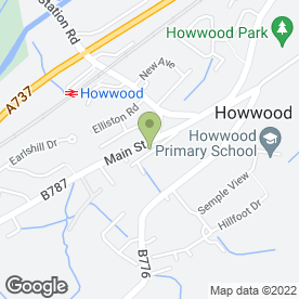 Map of GREENERGY ADVICE in Howwood, Johnstone, renfrewshire
