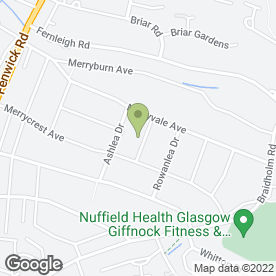 Map of DA Accountants in Giffnock, Glasgow, lanarkshire