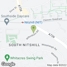 Map of Southside Window Systems Ltd in Nitshill, Glasgow, lanarkshire