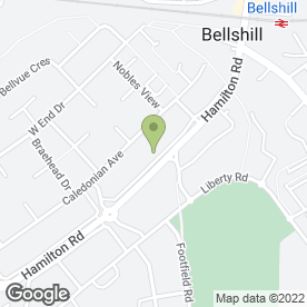 Map of Royal Cottage in Bellshill, lanarkshire