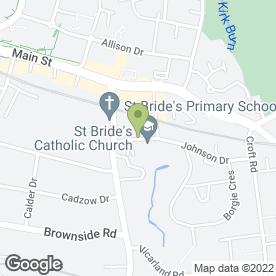 Map of Green Cross Nursing Home in Cambuslang, Glasgow, lanarkshire