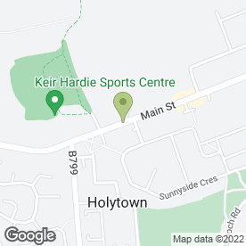 Map of Holytown Surgery in Holytown, Motherwell, lanarkshire