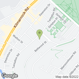 Map of Ladder IT Ltd in Shawlands, Glasgow, lanarkshire