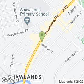 Map of Apollo Blinds in Shawlands, Glasgow, lanarkshire