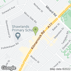 Map of DG4 Electrical in Glasgow, lanarkshire