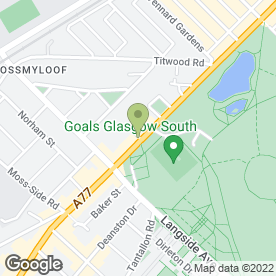Map of Speediprint in Glasgow, lanarkshire
