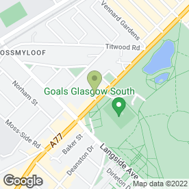 Map of Moon Guitars in Glasgow, lanarkshire