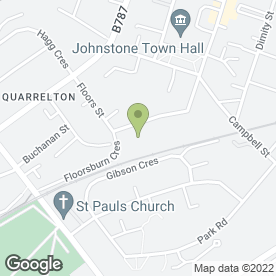 Map of KMS Heating in Johnstone, renfrewshire