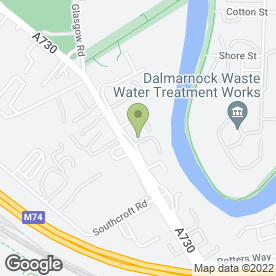 Map of Bemco Electrical Wholesale in Rutherglen, Glasgow, lanarkshire