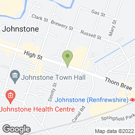 Map of Clyde Car Collectors in Johnstone, renfrewshire