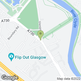 Map of Anderson Floor Warming Ltd in Rutherglen, Glasgow, lanarkshire