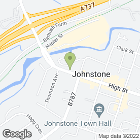 Map of Stranville John in Johnstone, Renfrewshire, renfrewshire