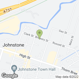 Map of WEANS WORLD JOHNSTONE in Johnstone, renfrewshire