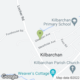 Map of Stark Images in Kilbarchan, Johnstone, renfrewshire