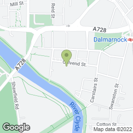 Map of Scottish T Shirt Co in Glasgow, lanarkshire