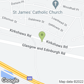Map of Platinum Wedding Catering Services in Coatbridge, lanarkshire
