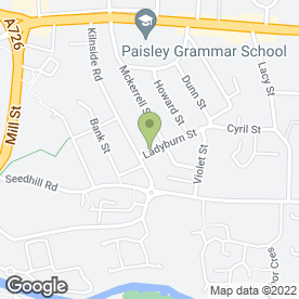 Map of Eastend Tandoori in Paisley, renfrewshire