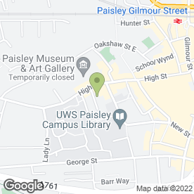 Map of A&A Plastering / Roofing in Paisley, renfrewshire