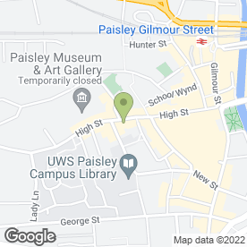 Map of ARGYLL ROOFING in Paisley, renfrewshire