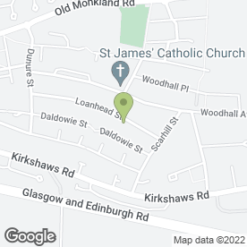 Map of Occasions Catering in Coatbridge, lanarkshire
