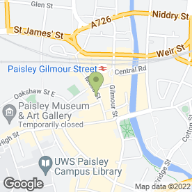 Map of Kyva's Boutique in PAISLEY, renfrewshire