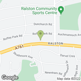 Map of Abercorn Pest Control Services in Paisley, renfrewshire